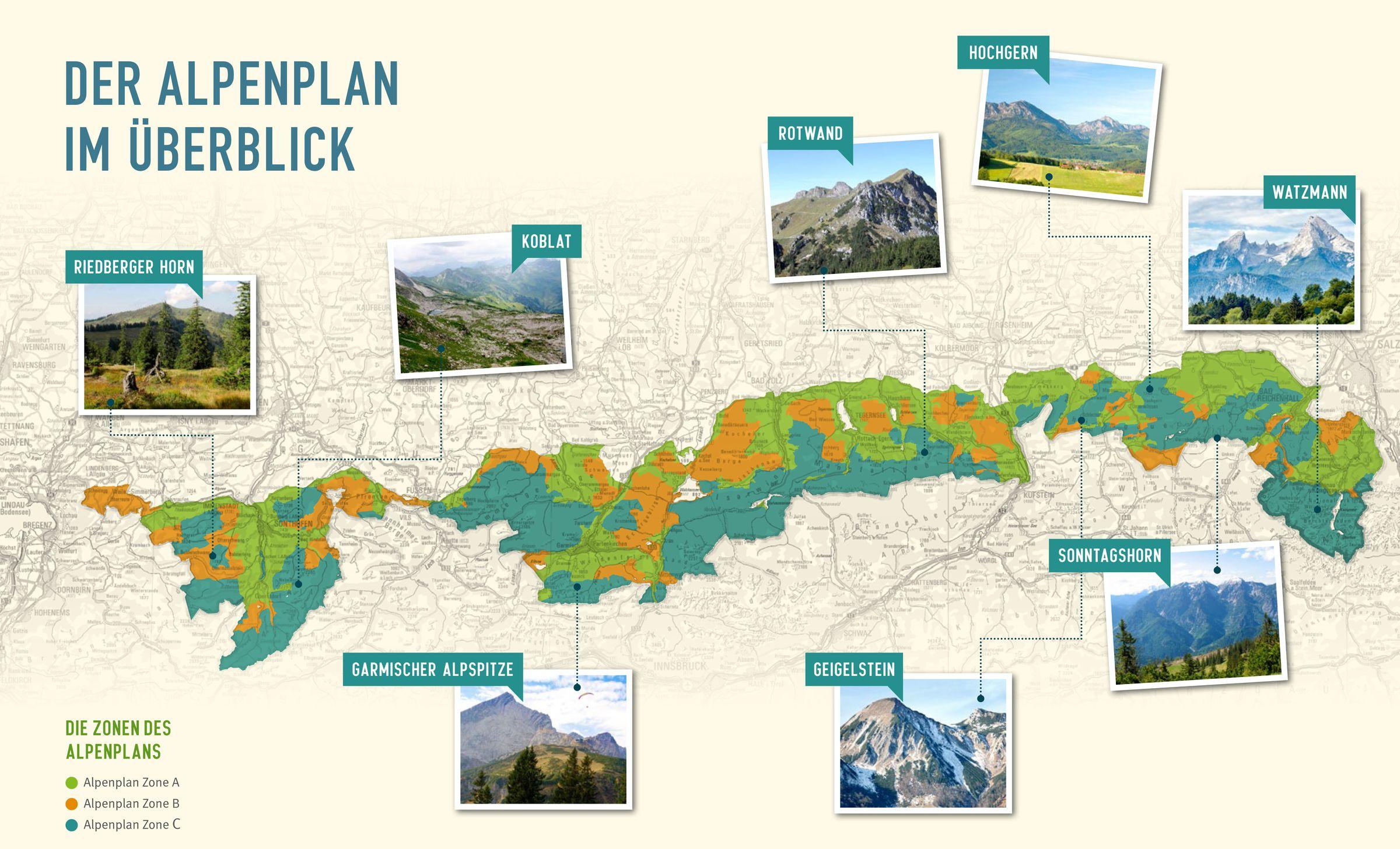 Der Alpenplan Schutz Fur Die Bayerischen Berge