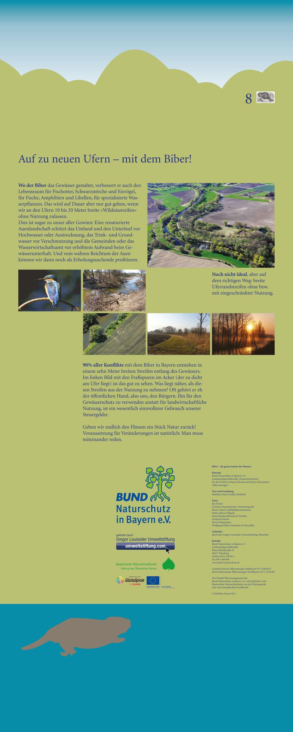 Biber Bund Naturschutz In Bayern E V