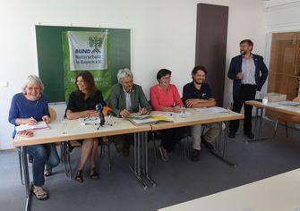 von links nach rechts: K. Wurzbacher, Dr. C. Ziehm, R. Mergner, R. Steinberger, Dr. H. Doerk, Dr. H. Barthel, Foto: Christof Stache