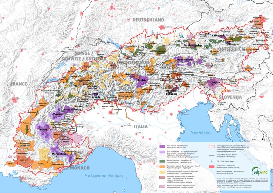 alpen karte deutschland Alpenschutzgebiete – BUND Naturschutz in Bayern e.V.